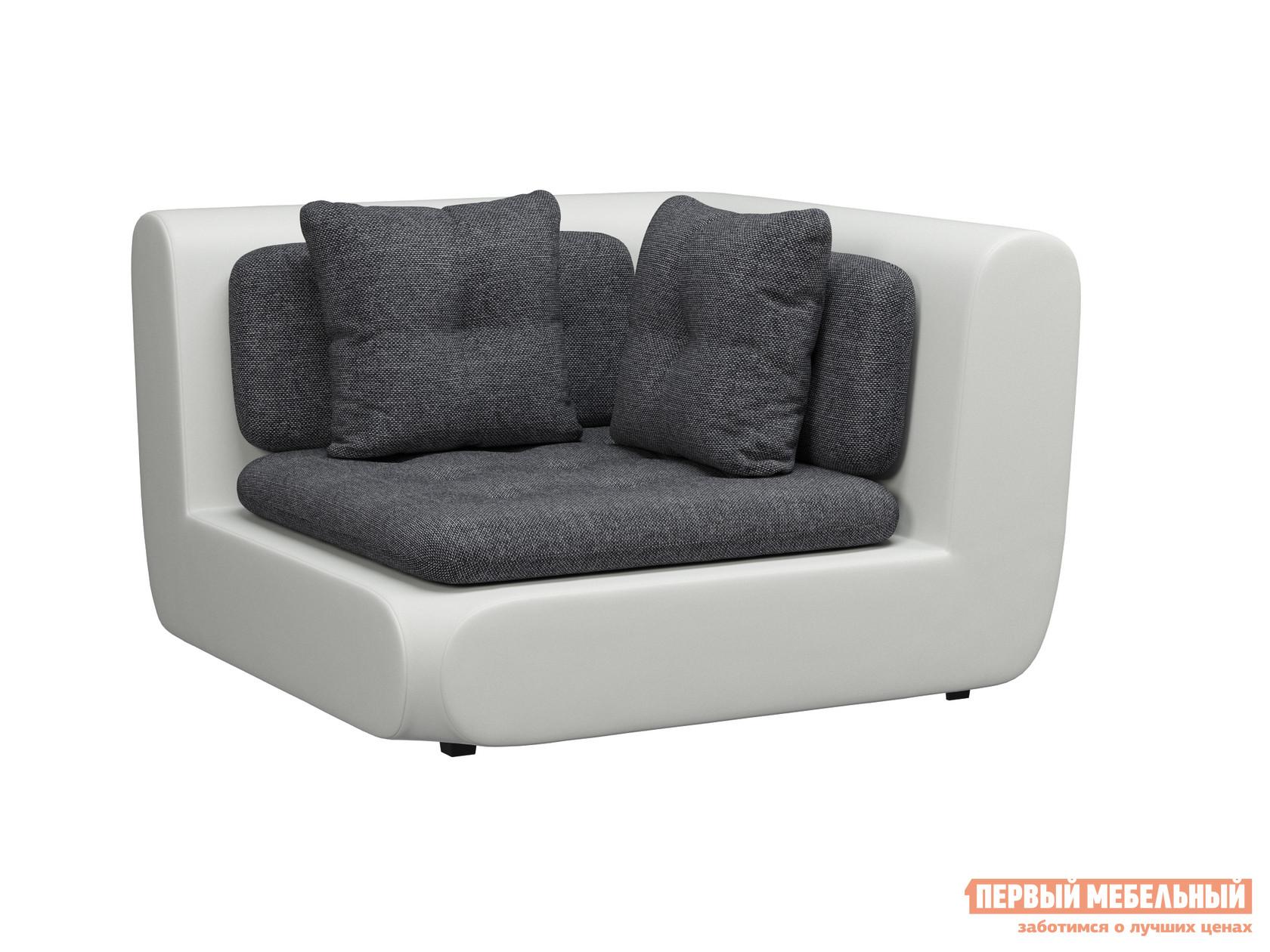 Угловой диван WOODCRAFT Кормак угловой модуль с ящиком