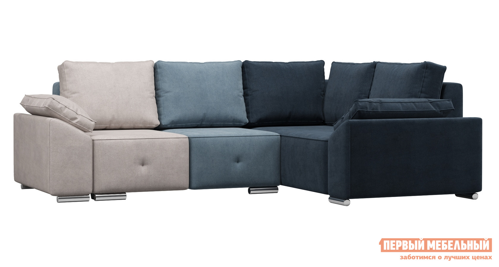 Угловой диван WOODCRAFT Фанки комплект угловой диван угловой woodcraft вендор джеральд 3 универсальный