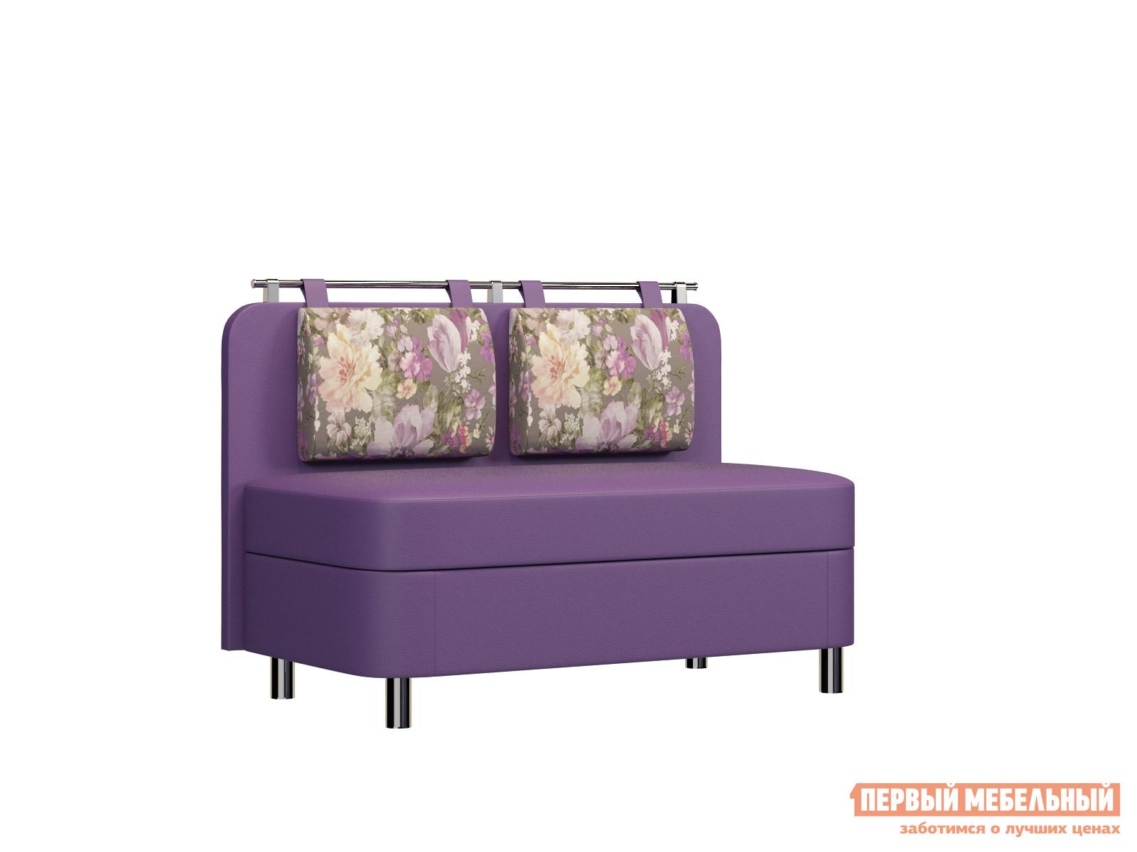 Мягкий узкий мини диван на кухню двухместный Вудэкспорт Лагуна М5