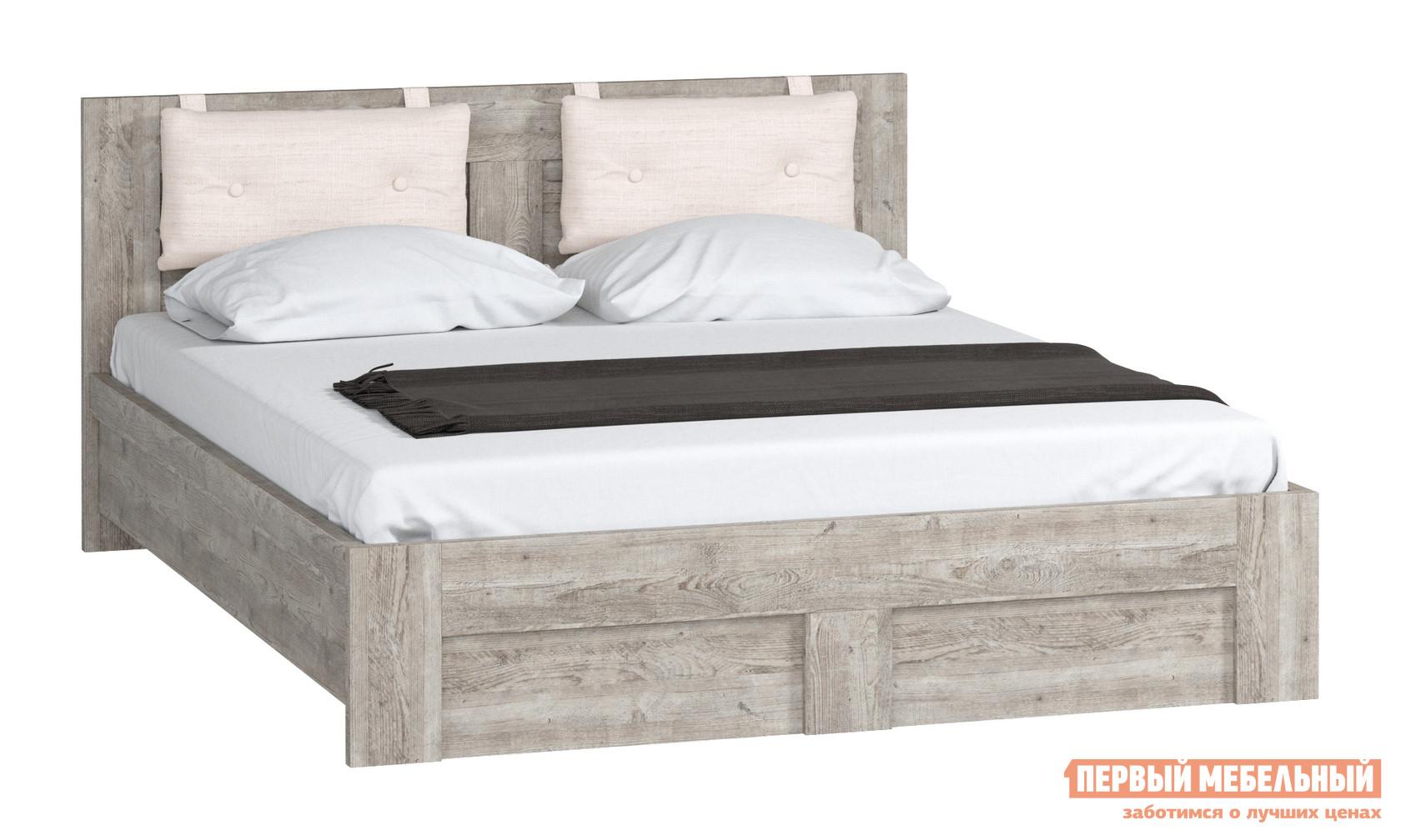 Двуспальная кровать WOODCRAFT Кровать 1400 мм, 1600 мм, 1800 мм Боб Пайн, 1600 Х 2000 мм, С основанием