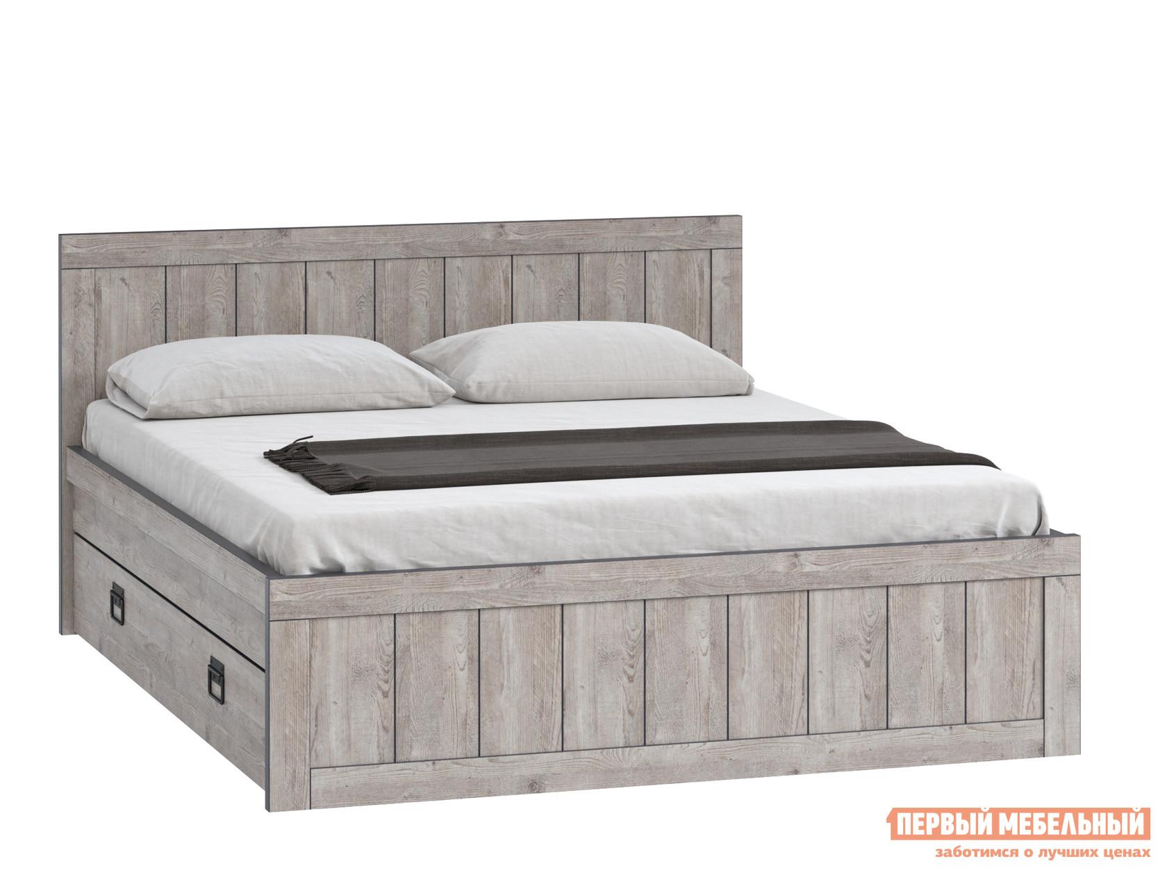 Кровать WOODCRAFT Эссен Кровать №3 с ящиками шкаф распашной woodcraft эссен шкаф 1 дверь