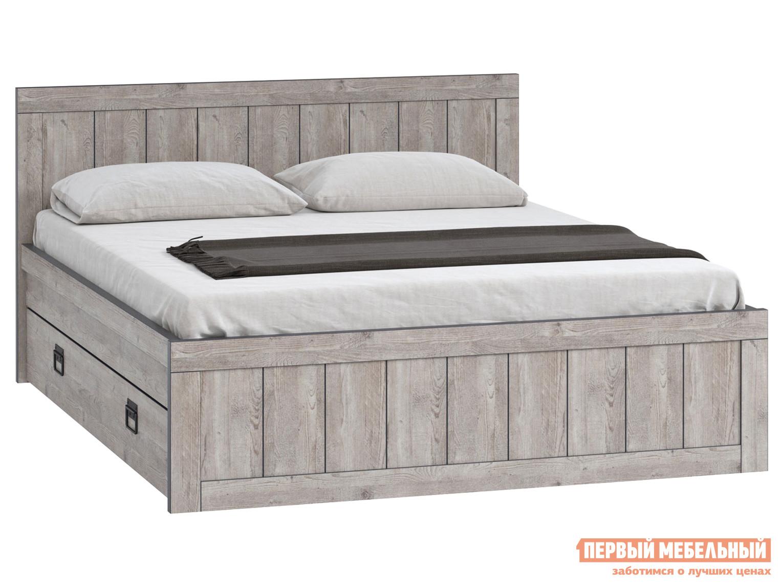 Двуспальная кровать  Эссен Кровать №3 с ящиками Боб Пайн, 1600 Х 2000 мм