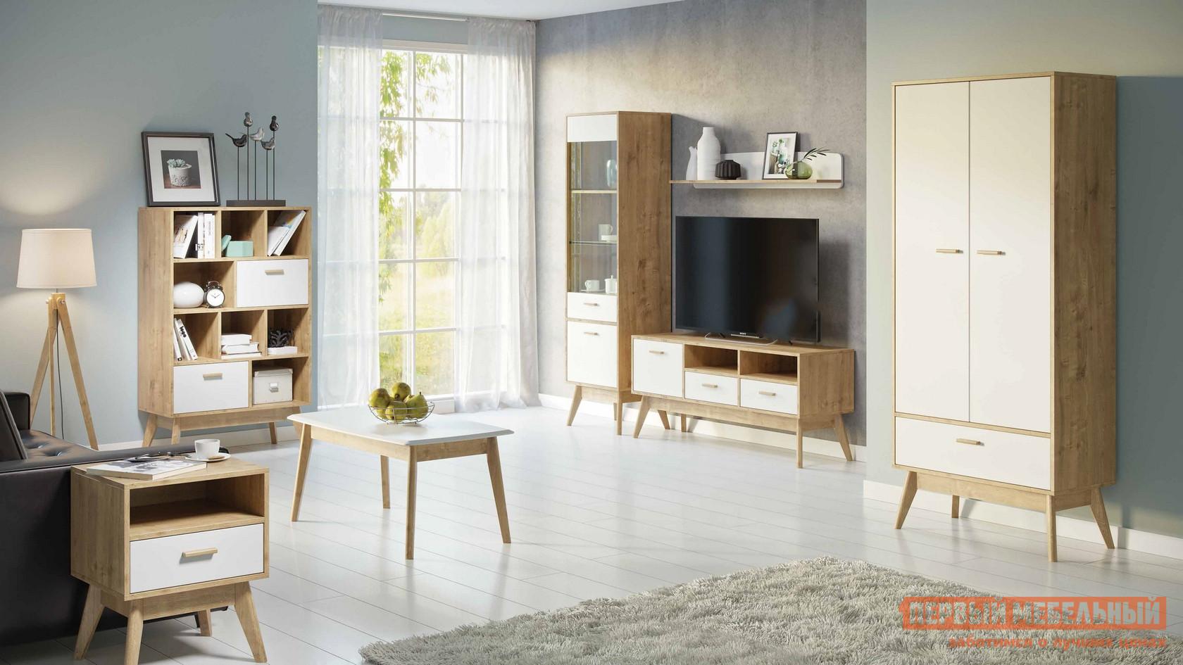 Стенка для гостиной WOODCRAFT Нордик стенка для гостиной мебелеф стенка для гостиной мебелеф 3