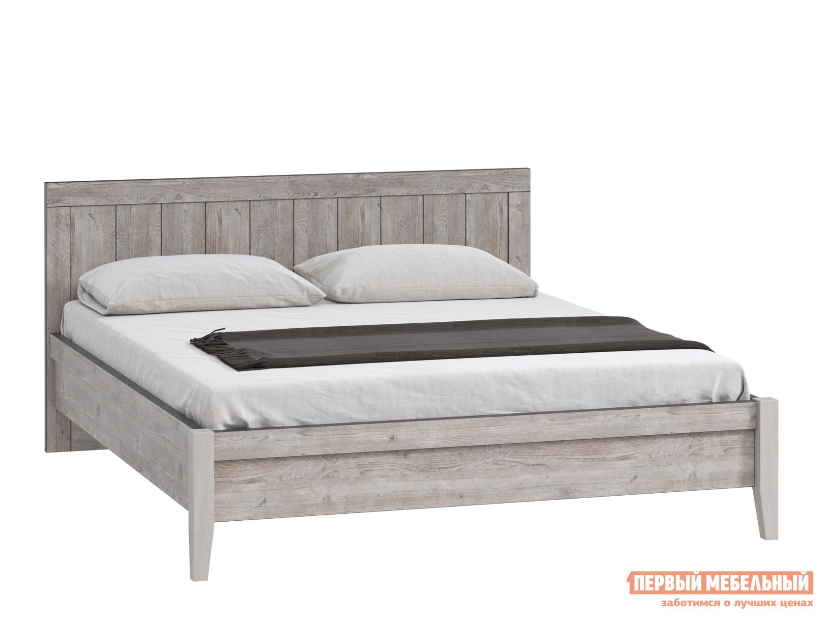 Полутороспальная кровать WOODCRAFT Эссен Кровать №2 шкаф распашной woodcraft эссен шкаф 1 дверь