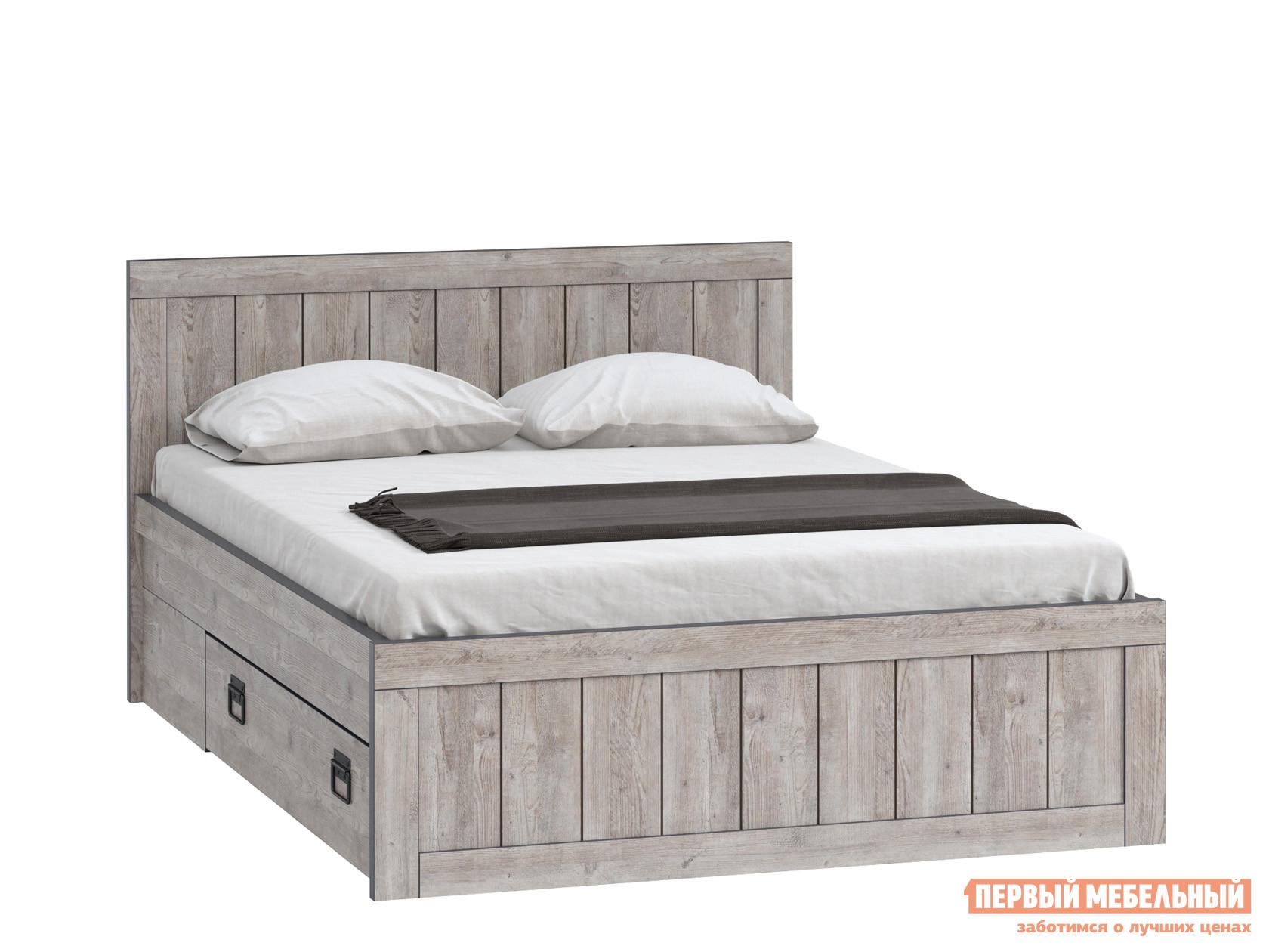 Полутороспальная кровать WOODCRAFT Эссен Кровать №4 1400 с ящиками woodcraft диван кровать рейн р 1а