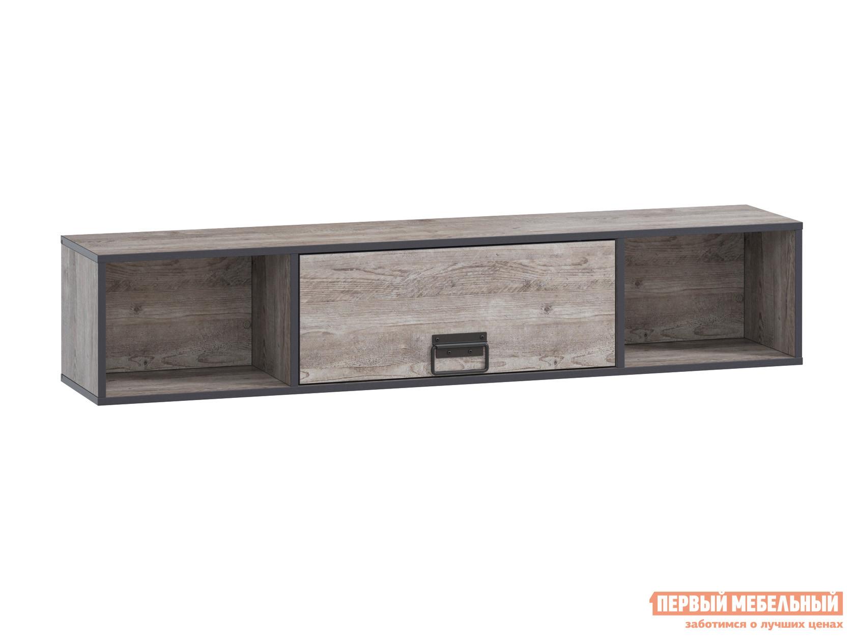 Настенная полка WOODCRAFT Эссен Полка №2 шкаф распашной woodcraft эссен шкаф 1 дверь