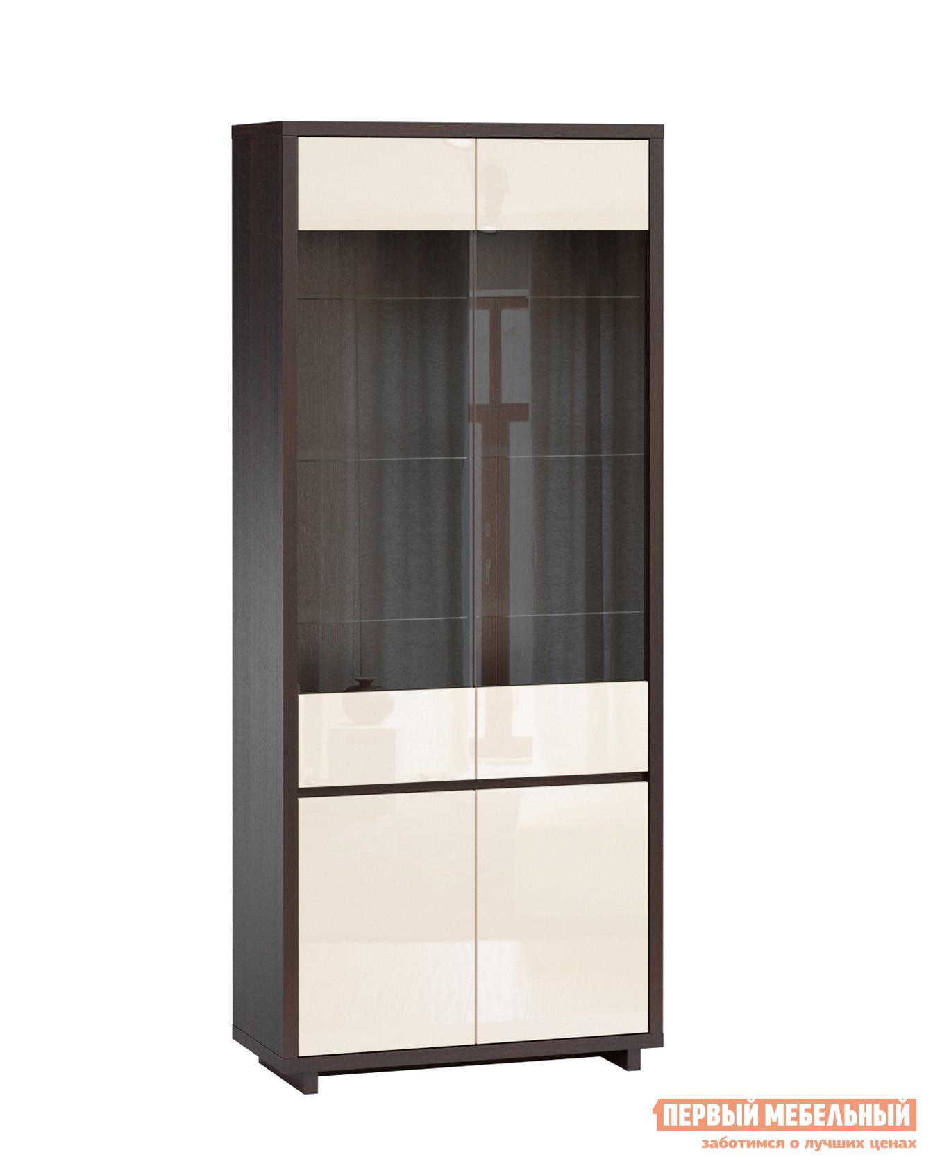 Шкаф-витрина WOODCRAFT Аспен Шкаф-витрина (4 двери) шкаф витрина мебель смоленск шк 07