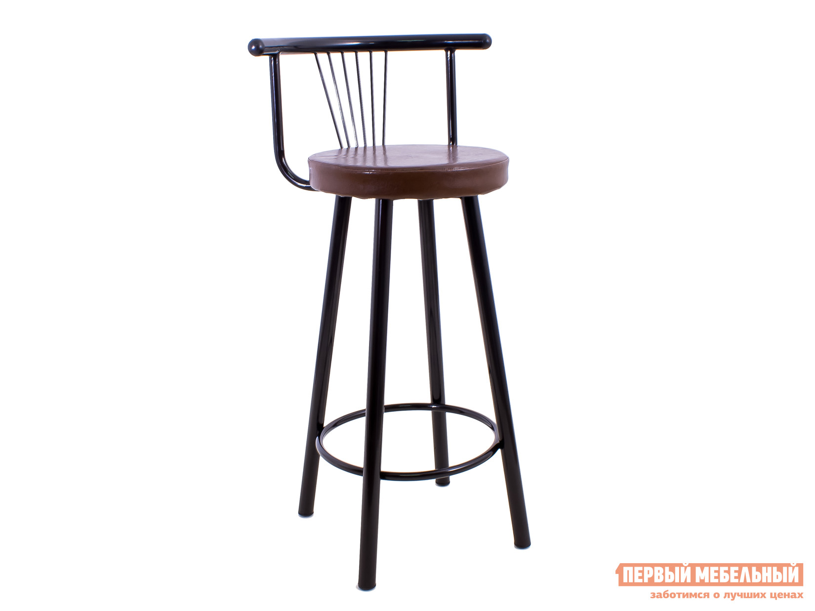 Барный стул Амис Барный Стиль Коричневый коралл