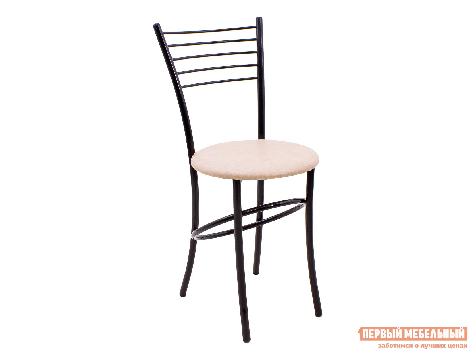 Кухонный стул Амис Сатурн Кремовый, Каркас черный глянец от Купистол