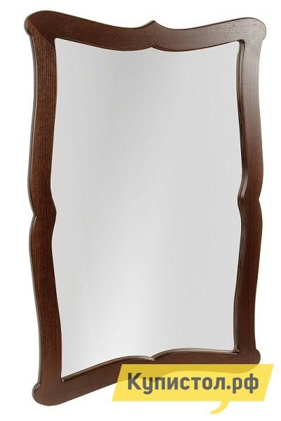 Настенное зеркало Мебелик Берже 23 Темно-коричневый