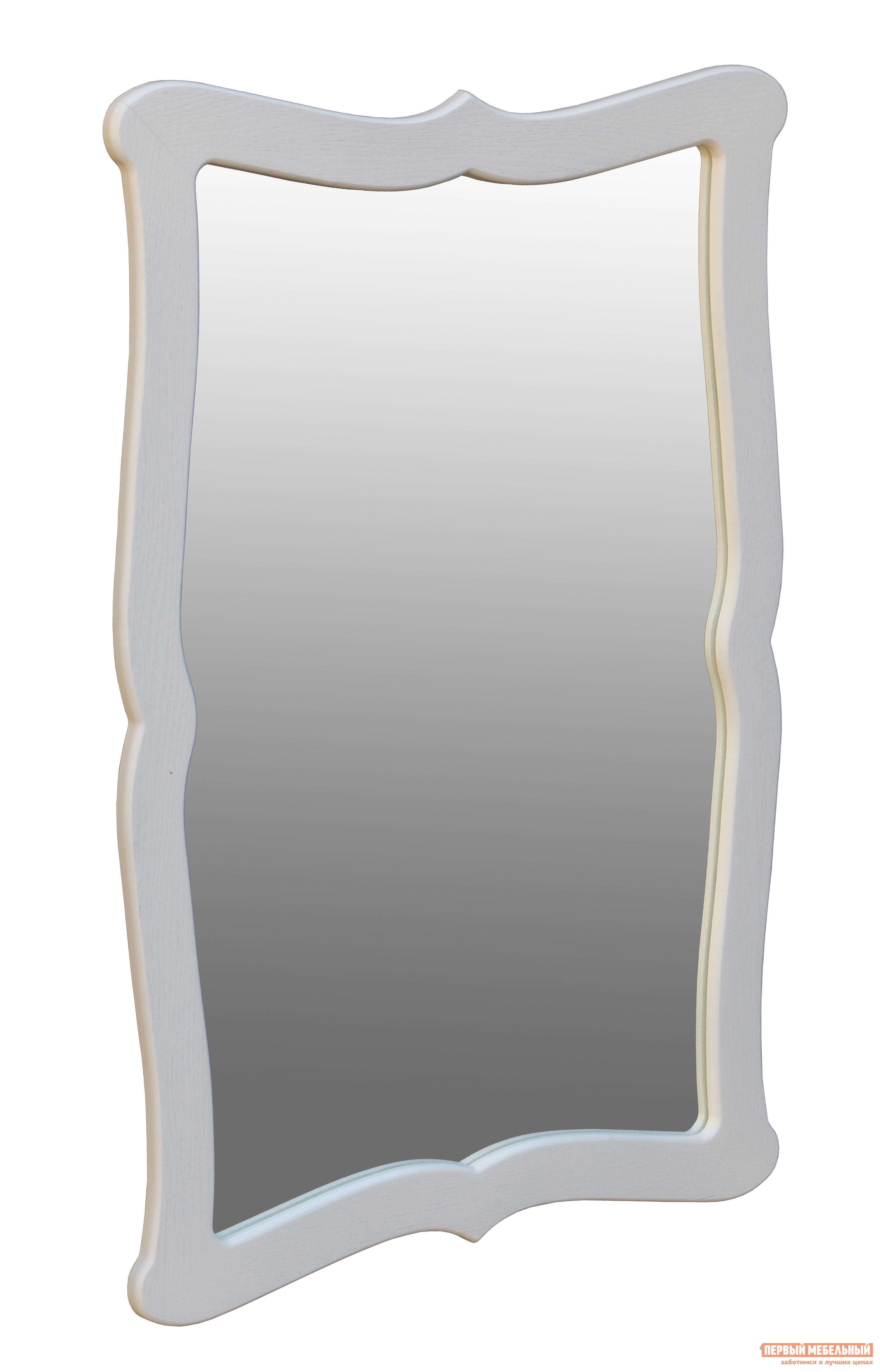 Настенное зеркало Мебелик Берже 23 Белый ясень