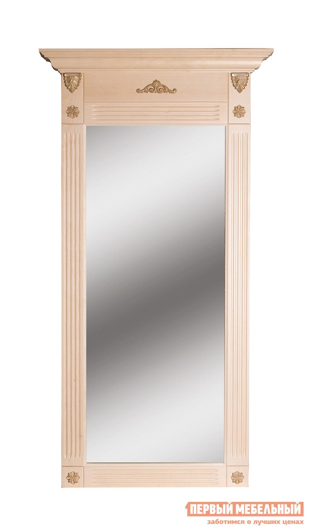 Настенное зеркало Мебелик Зеркало Сильвия зеркало мебелик сильвия белый ясень
