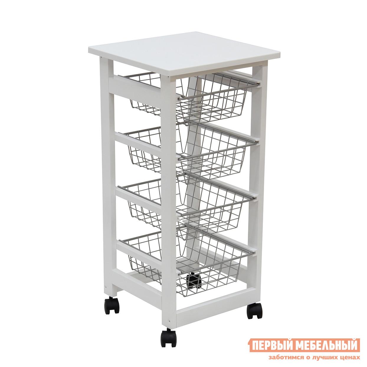Сервировочный столик на колесиках Мебелик  43Н
