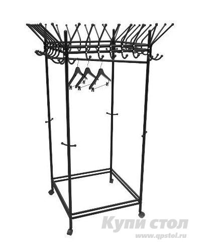 Гардеробная вешалка Мебелик Пико 23 мебелик вешалка гардеробная на колесах мебелик пико 21 4607130884133 l vwgnpx