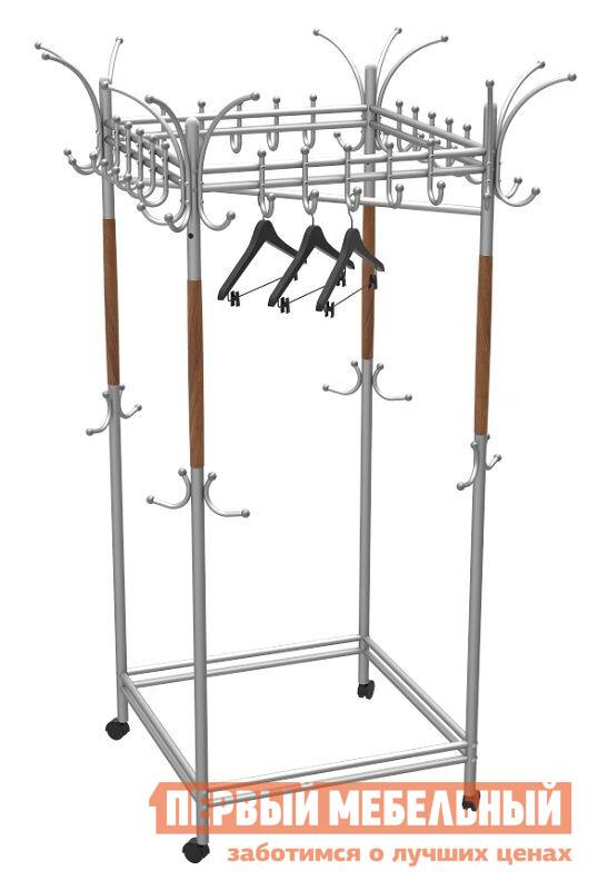 Гардеробная вешалка Мебелик Галилео 216 вешалка напольная мебелик вешалка гардеробная галилео 216