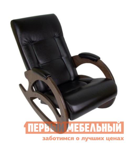 Кресло-качалка Мебелик Тенария 1 Венге (иск. кожа) от Купистол