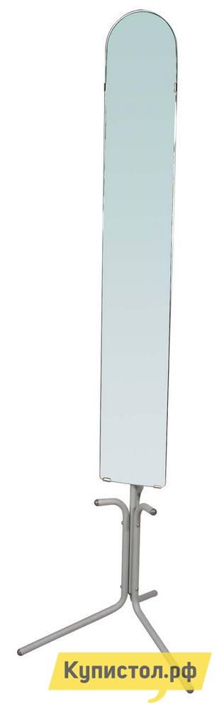 Напольное зеркало Мебелик Галилео 158 АлюминийНапольные зеркала<br>Габаритные размеры ВхШхГ 1750x550x550 мм. Зеркало размером 130х20 см на подставке, представлено в двух цветах- алюминий и черный.  Большое и удобное зеркало прекрасно подходит для просторных помещений, но и в небольших так же не займет много места.<br><br>Цвет: Серый<br>Высота мм: 1750<br>Ширина мм: 550<br>Глубина мм: 550<br>Форма поставки: В разобранном виде<br>Срок гарантии: 24 месяца<br>Тип: Простые<br>Назначение: Для спальни<br>Материал: Металл<br>Форма: Овальные<br>На ножках: Да<br>В полный рост: Да<br>На подставке: Да<br>Тип рамы: Без рамы