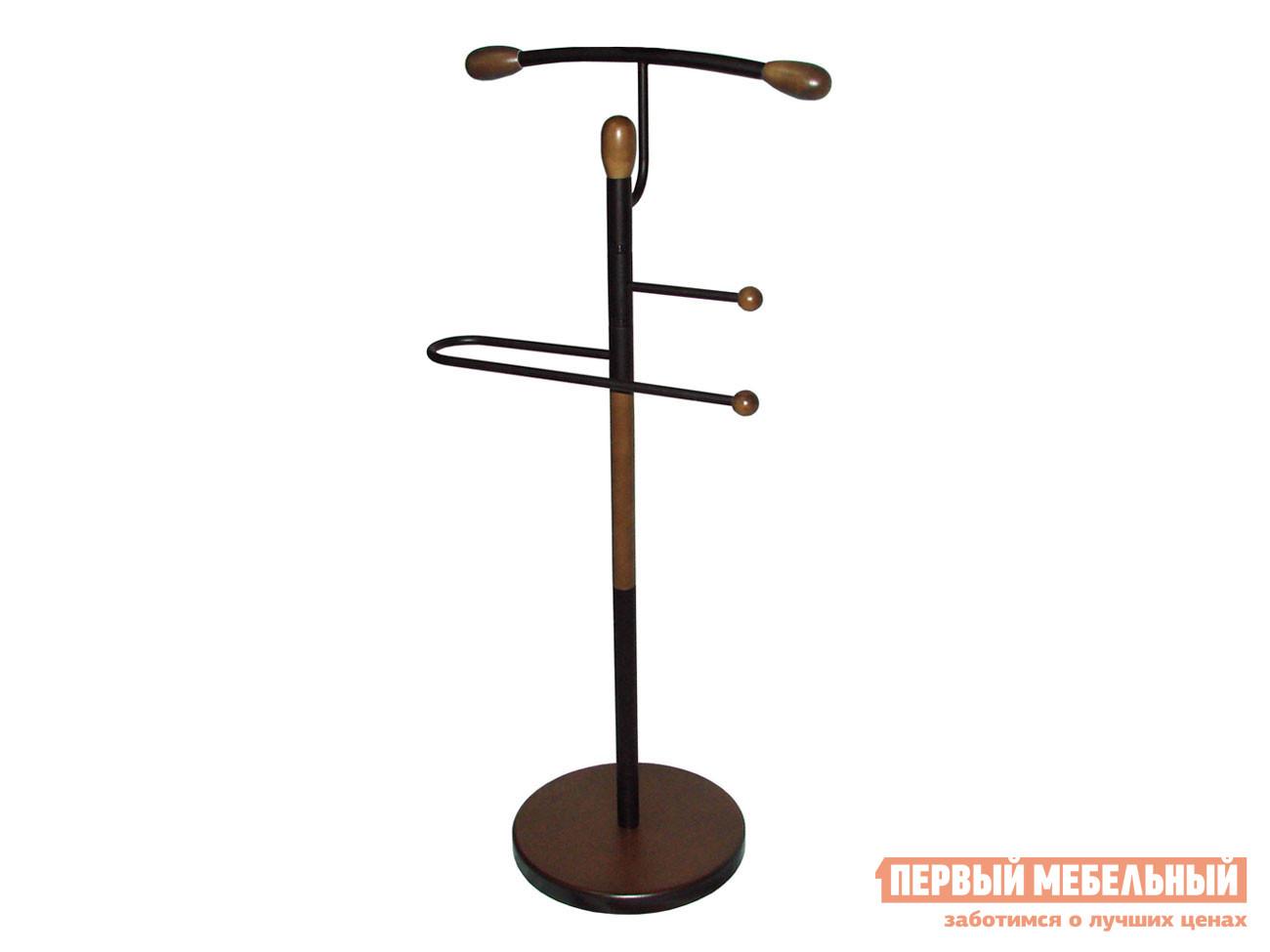 Костюмная вешалка  Галант 332 Черный / Средне-коричневый