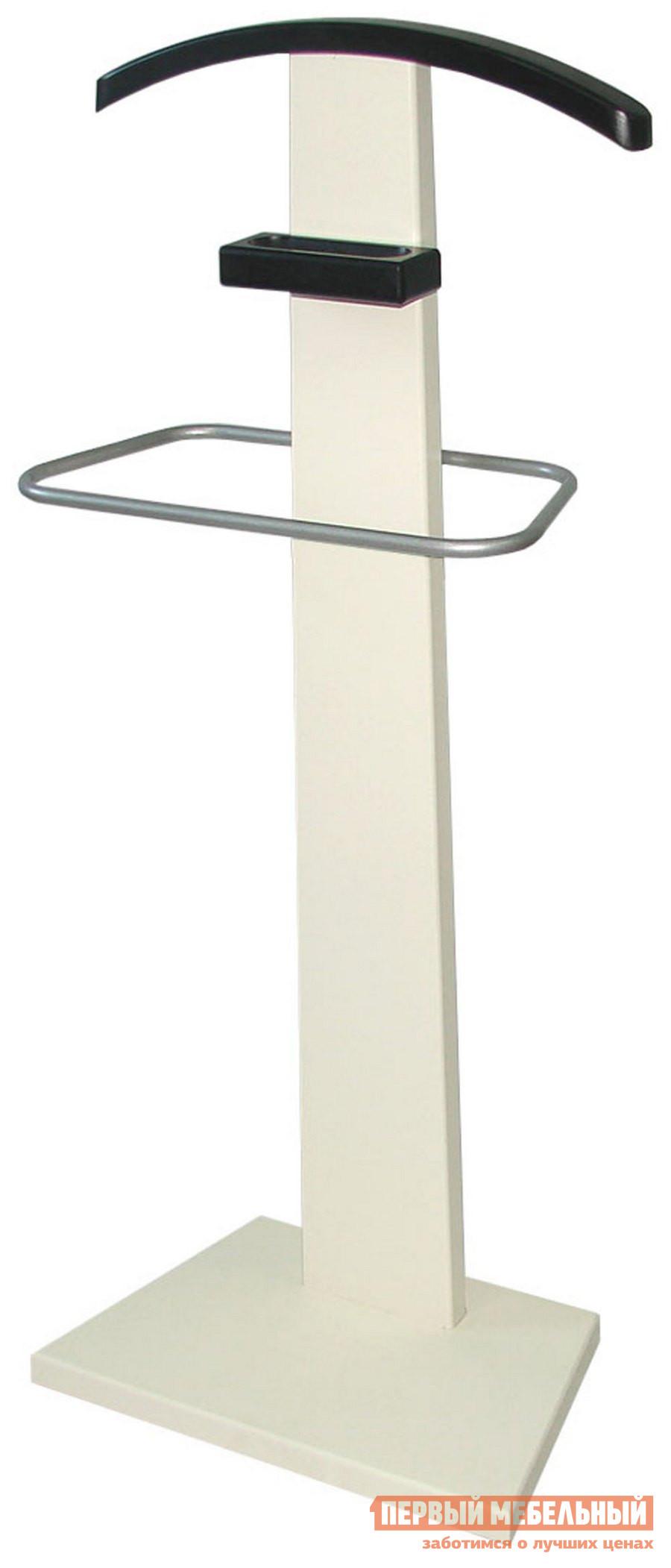 мебелик костюмная вешалка галант 332 алюминий средне коричневый Костюмная вешалка Мебелик Галант 322