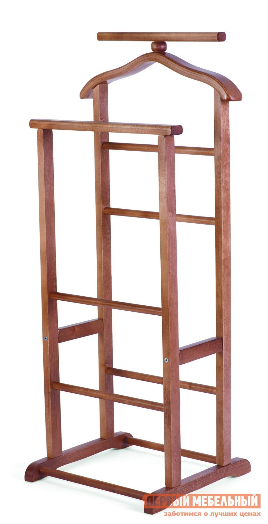 Костюмная вешалка Мебелик В-9Н (костюмная) Средне-коричневый от Купистол