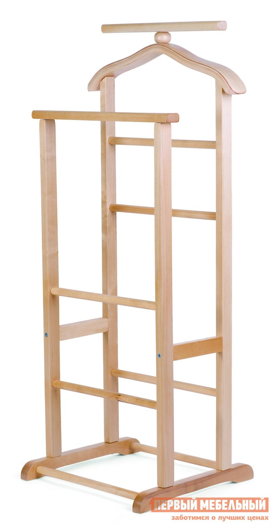 Фото Костюмная вешалка Мебелик В-9Н (костюмная) Светло-коричневый. Купить с доставкой