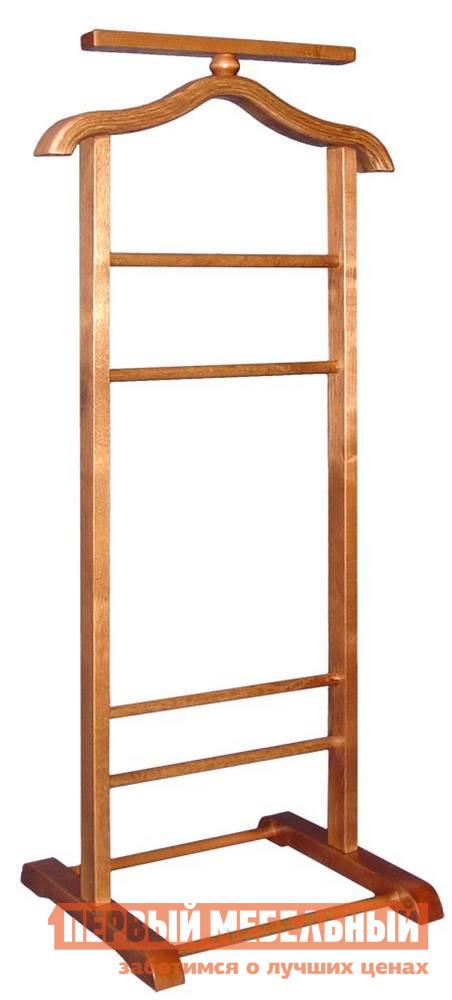 Костюмная вешалка Мебелик В-6Н (костюмная) мебелик вешалка напольная в 6н светло коричневая ifm ypsc