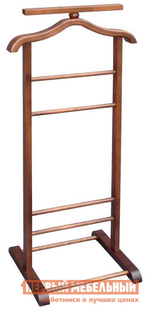Костюмная вешалка Мебелик В-6Н (костюмная) Темно-коричневый от Купистол