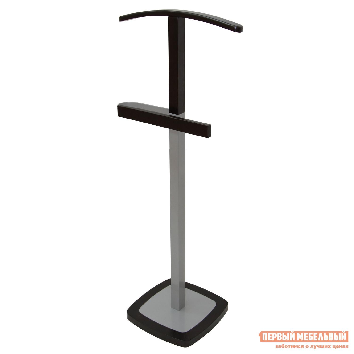 Костюмная вешалка Мебелик Босс 7 Металлик/Темно-коричневый