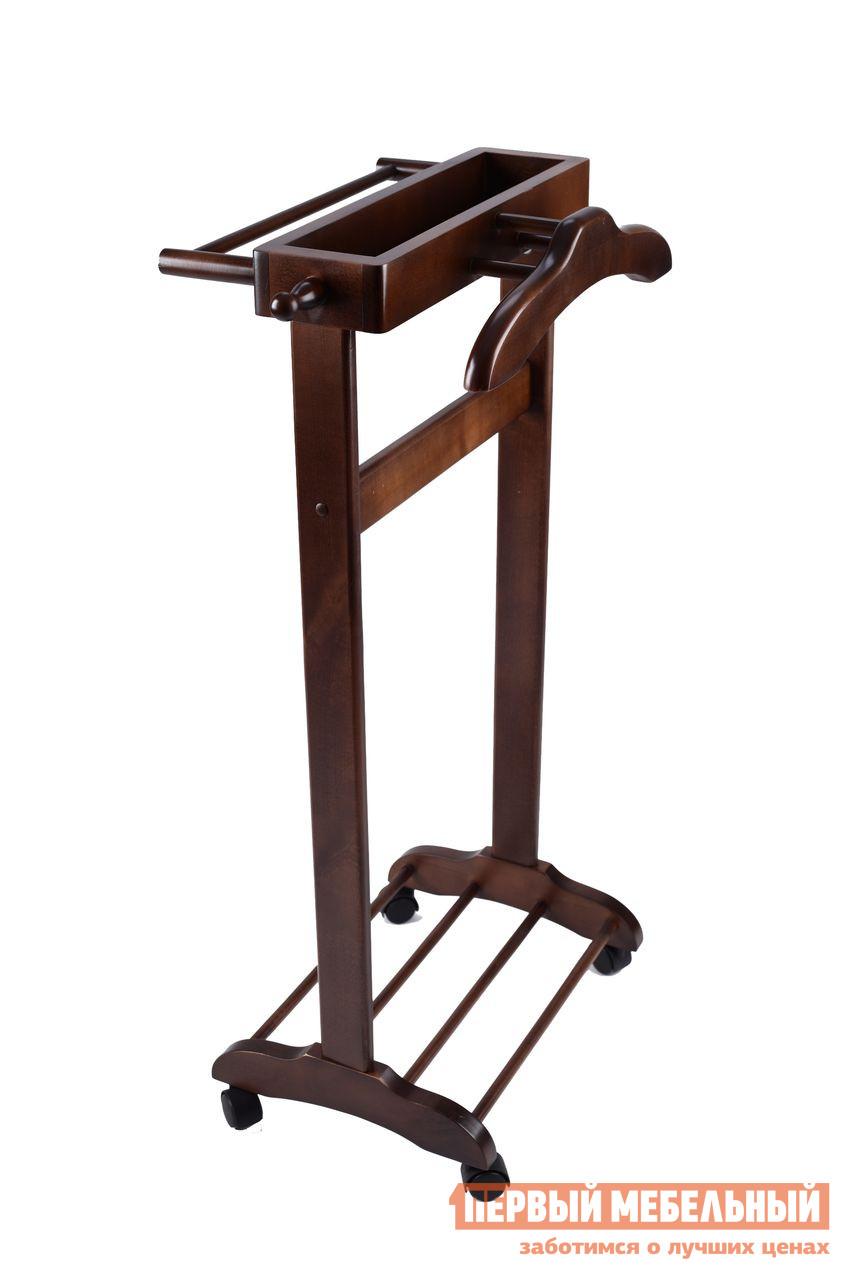 Костюмная вешалка Мебелик В 20Н Темно-коричневый от Купистол
