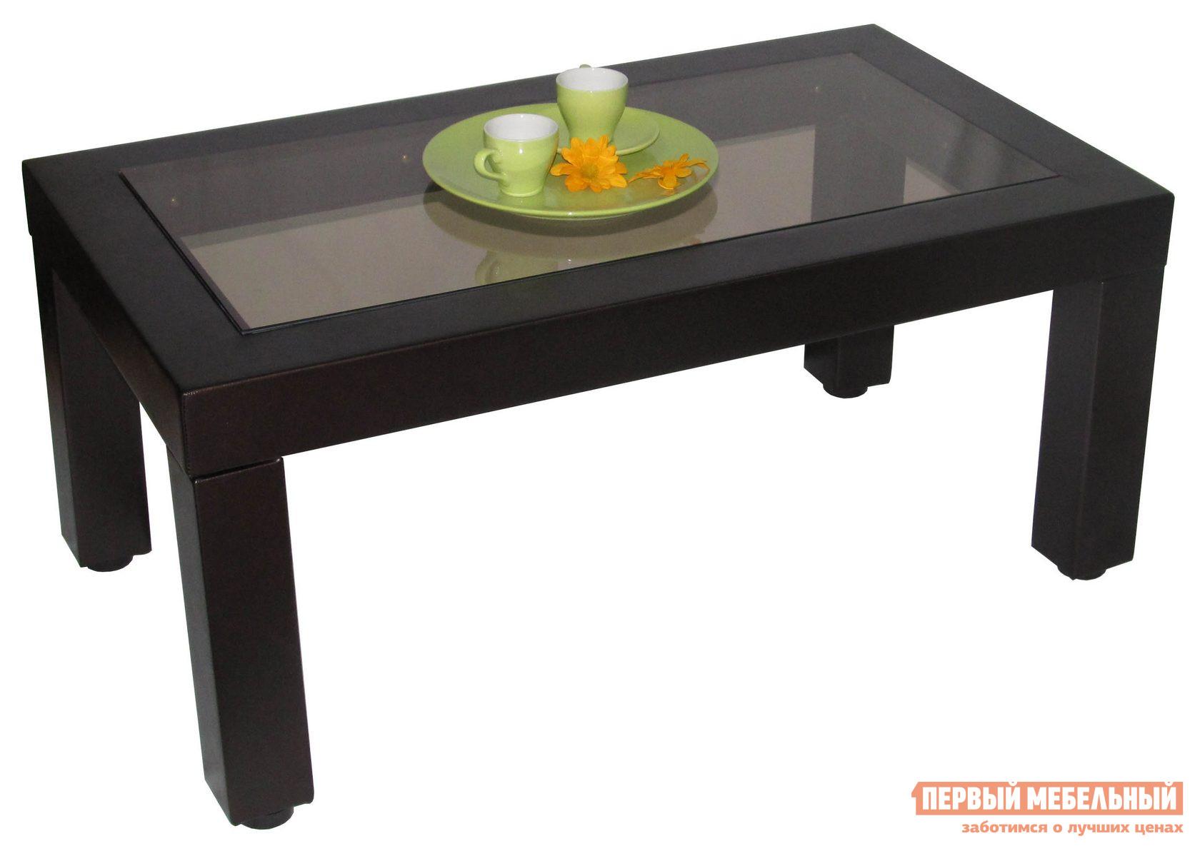 Журнальный столик Мебелик Сакура 3 Венге (иск. кожа)