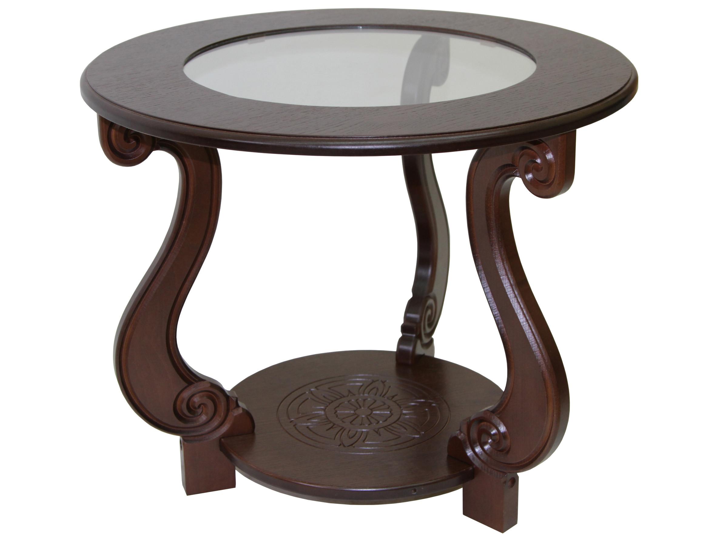 Журнальный столик Мебелик Стол журнальный Грация (С)