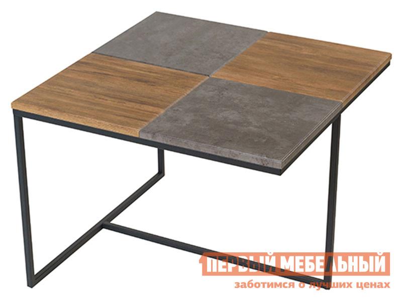 Журнальный столик Мебелик Журнальный столик Фьюжн квадро