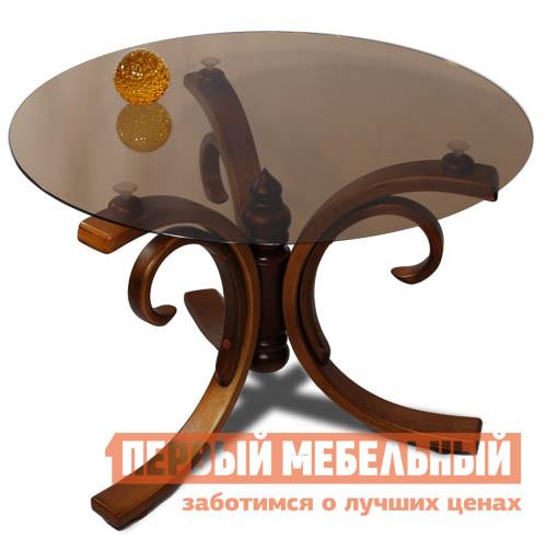 Журнальный столик Мебелик Миледи шатура стол журнальный миледи тёмно коричневый