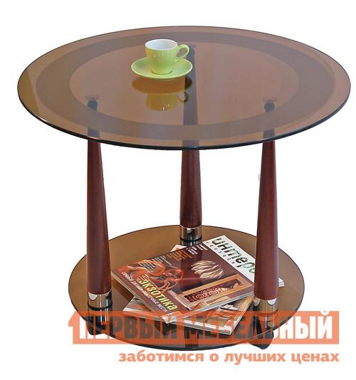 Стеклянный кофейный столик Мебелик Квартет-13