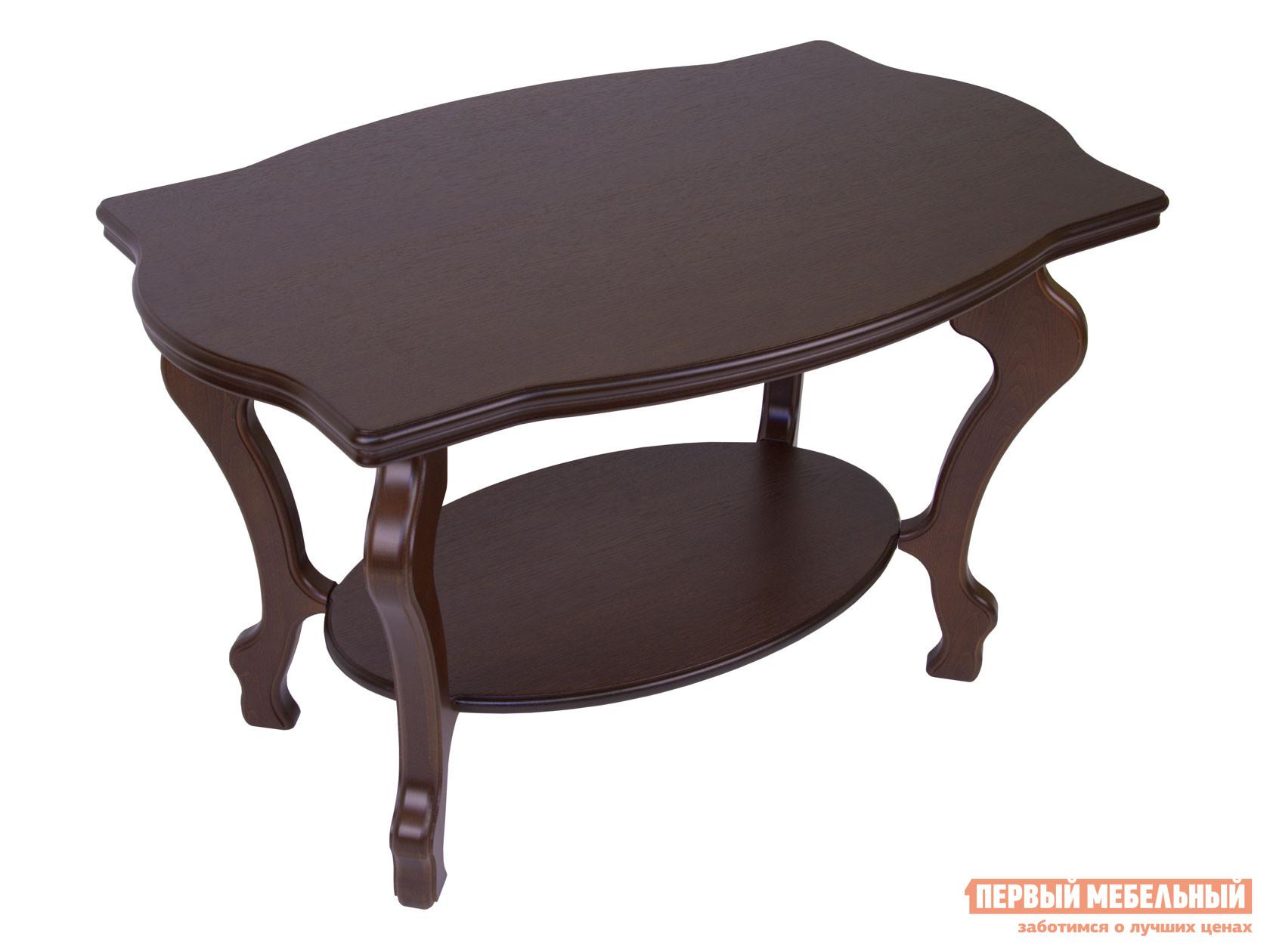 Журнальный столик  Берже-1 Темно-коричневый