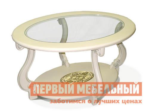 Журнальный столик Мебелик Овация (С)  Слоновая кость