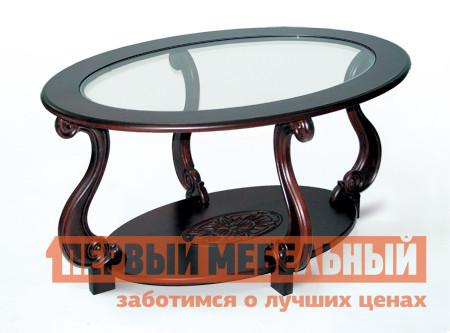 Журнальный столик Мебелик Овация (С)  Темно-коричневый