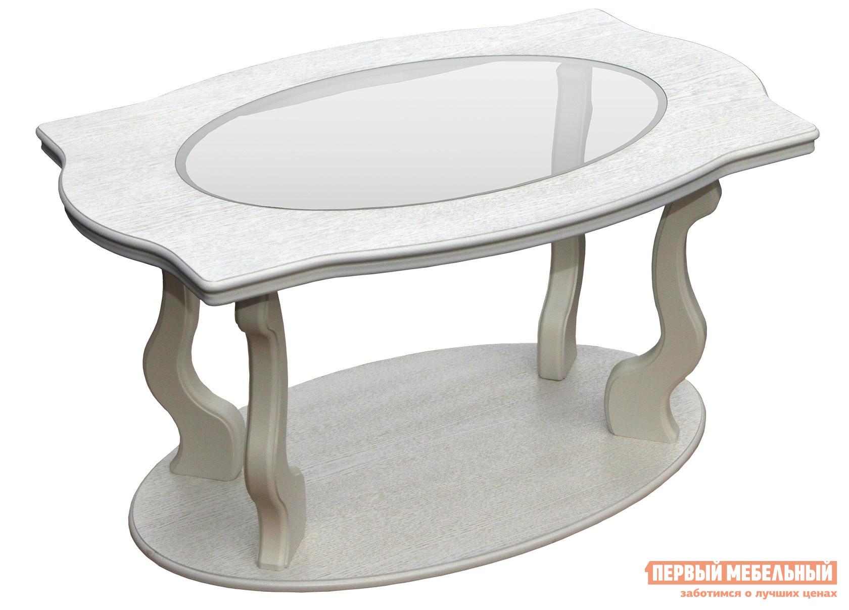 Журнальный столик из массива дуба Мебелик Берже-3С