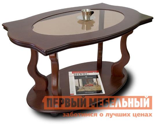 Журнальный столик из массива дуба Мебелик Берже-3С столик журнальный в винтажном стиле из обыкновенного дуба quilda