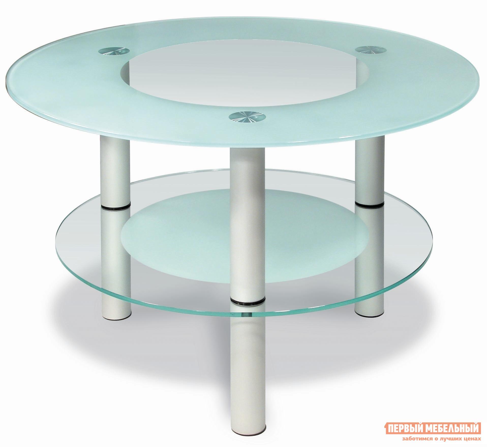 купить Журнальный столик Мебелик Кристалл 3 журнальный стол по цене 10030 рублей