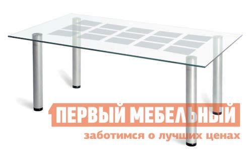 Стол журнальный со стеклом Мебелик Робер-11М журнальный стол робер 10джурнальный стол робер 10д