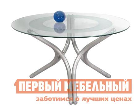Стеклянный журнальный стол Мебелик Дуэт-6