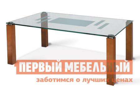 Стол журнальный со стеклом Мебелик Робер-10Д журнальный стол робер 10джурнальный стол робер 10д