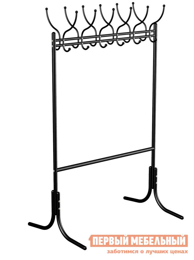 Фото Гардеробная вешалка Мебелик М-11 Черный. Купить с доставкой