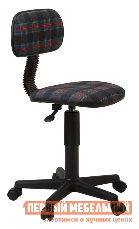 Компьютерное кресло Бюрократ CH-201NX 53-11 Коричневый клетка шотландка