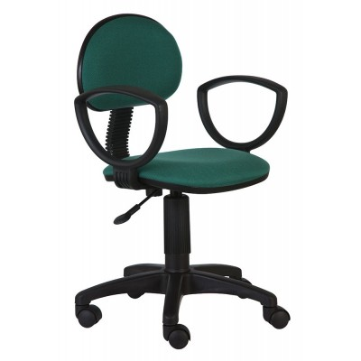 Детское компьютерное кресло Бюрократ CH-213AXN 10-24 Зеленый
