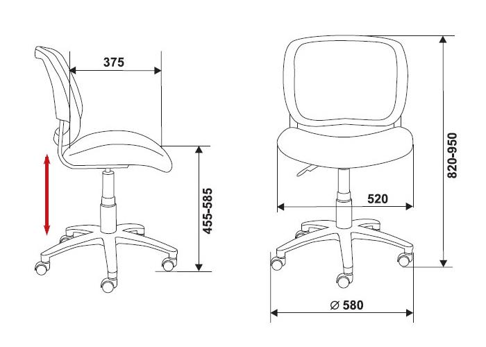Офисное кресло CH-297NX КупиСтол.Ru 1940.000