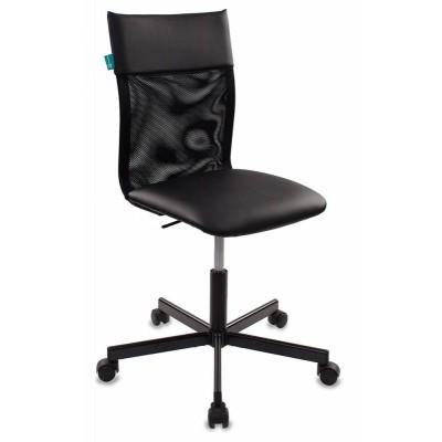 Офисное кресло Бюрократ CH-1399 Сетка черная / Искусственная кожа черная