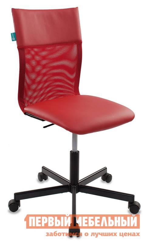 Офисное кресло Бюрократ CH-1399 Сетка красная / Искусственная кожа красная