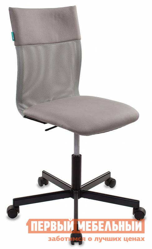 Офисное кресло Бюрократ CH-1399 Сетка серая / Искусственная кожа серая